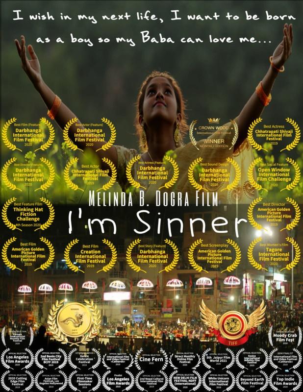 "I'm Sinner - Best Film & Best Actor Award For ""Ankur Nayyer"" (United States)"