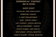 Screenplay-Contest-Short