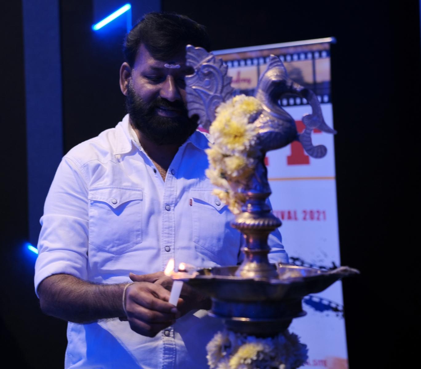 Film Producer Mr. Kathiresan sir (Hit Maker Of Polladhavan, Aadukalam & Jigarthanda) Inaugurated MIFF 2021 Event